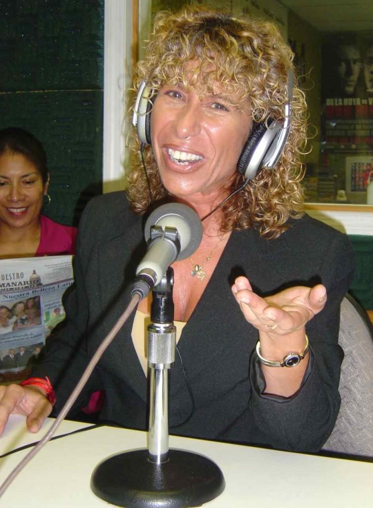 Planeta X - Claudia Goffan Radio Interview with Winston Garcia