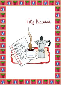 lantigua designs bilingual christmas card