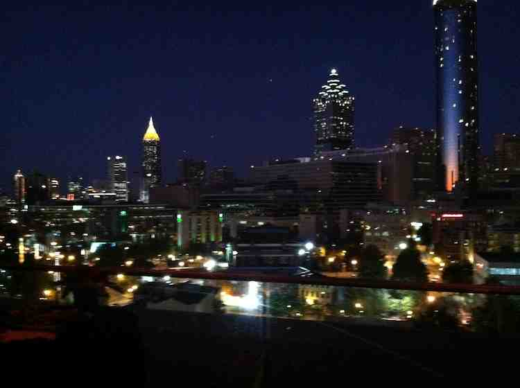 "Atlanta view from CNN's ""New Guard"" private event"