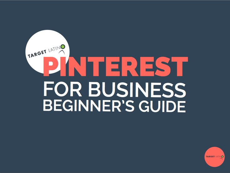 Pinterest for Business Guide Beginner Level