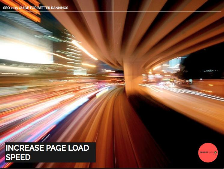 SEO 2015 increase page load speed